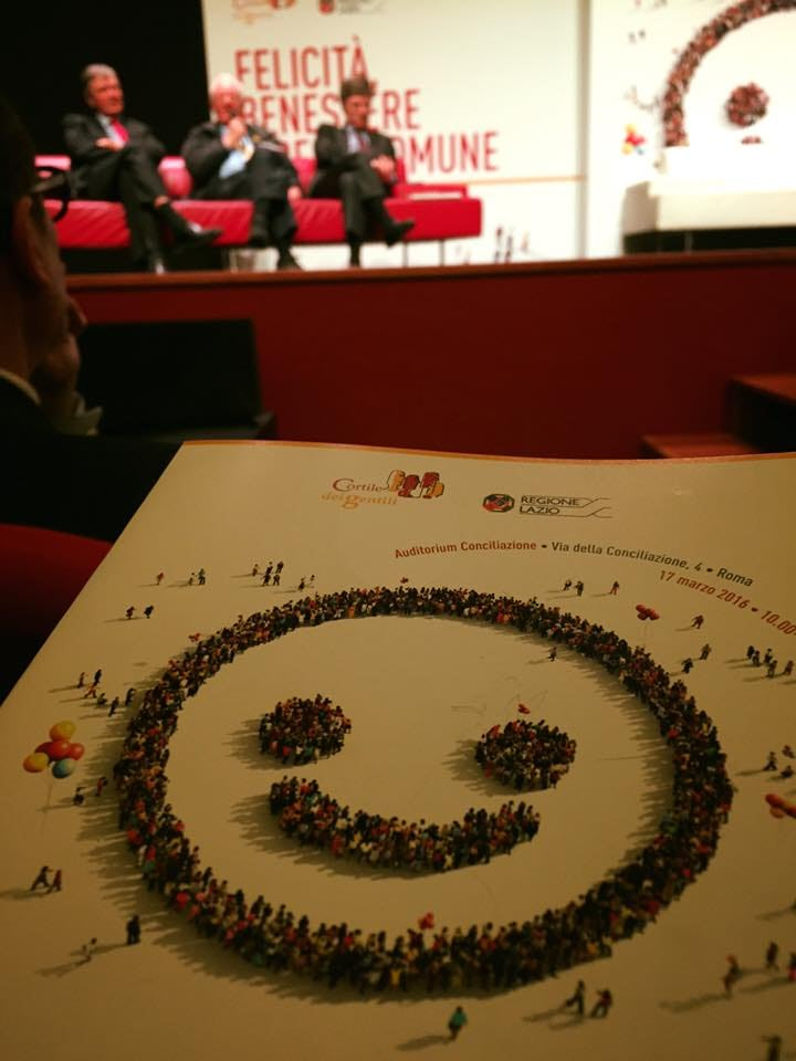 The 2016 launch event for the World Happiness Report in Rome, Italy.World Happiness Report
